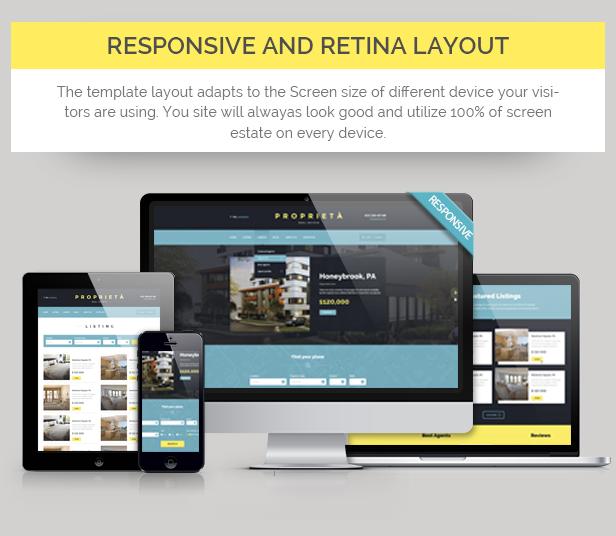 Proprieta Responsive HTML Template