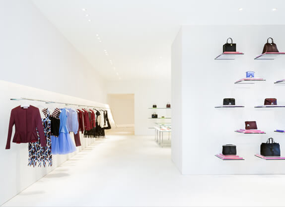 opening of the olins store in paris