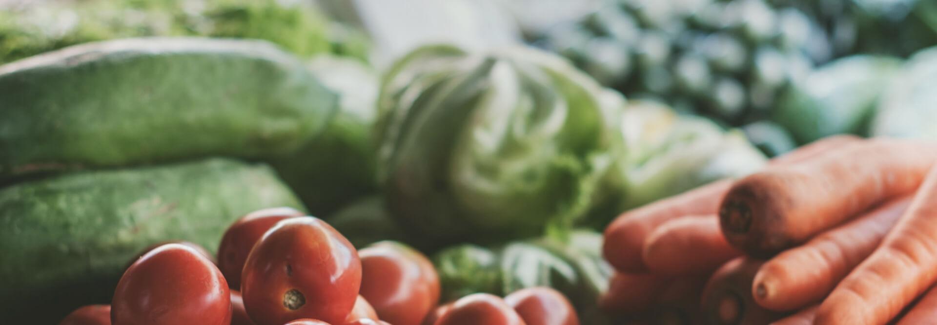 Eat organic and fresh